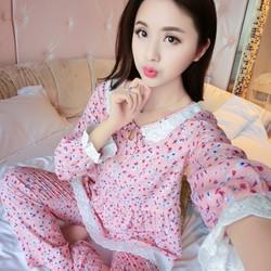 Bộ đồ ngủ mặc nhà dài tay 2017 - NG8095