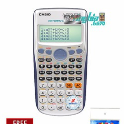 Máy tính Casio 570 vn plus + Tặng 1 decal dán bàn phím