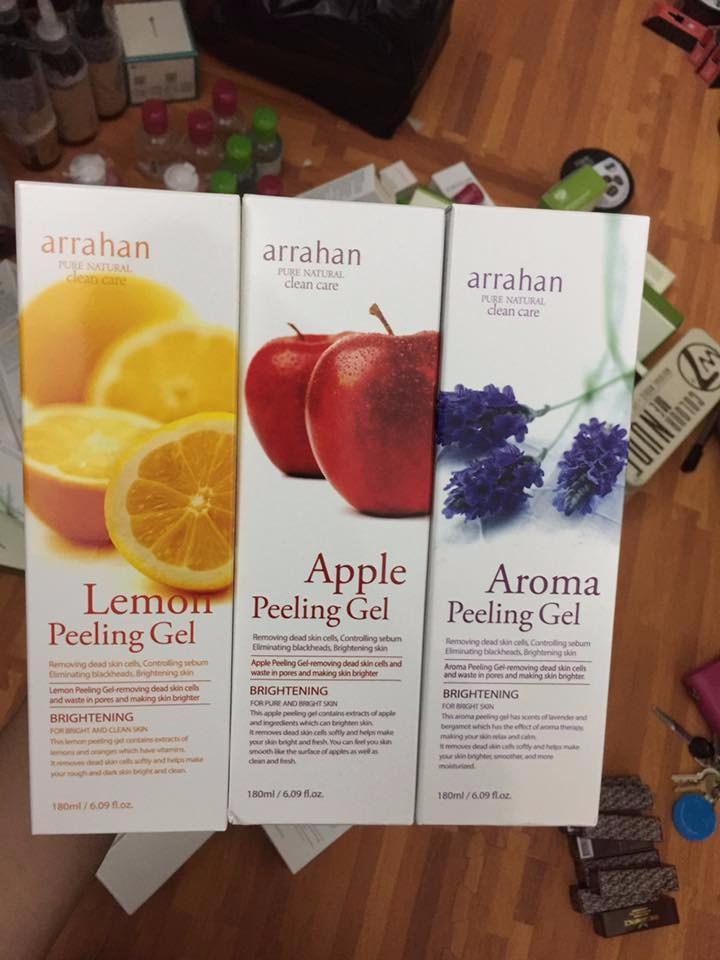 Kem tẩy da chết Arrahan Whitening Peeling Gel 2