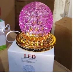 đèn led quả cầu xoay