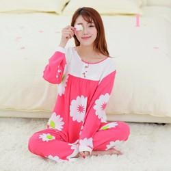 Bộ đồ ngủ mặc nhà dài tay 2017 - NG1451-1