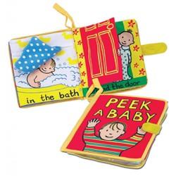 Sách vải Peek a baby