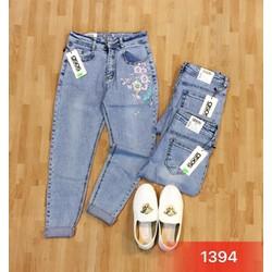 quần jean thêu đẹp