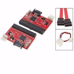 Card chuyển đổi IDE ra Sata hai chiều  2 màu đen và đỏ