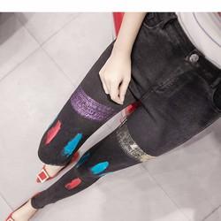 quần jeans skinny màu sắc Mã: QD1328