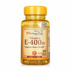 Viên uống bổ sung vitamin E chống lão hóa da Vitamin E-400 IU