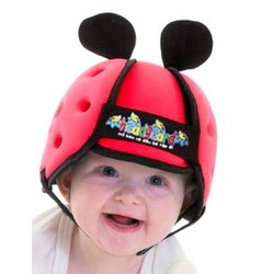 Nón bảo hiểm an toàn cho trẻ tập bò, tập đi và đi xe máy