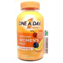 Vitamin One A Day WoMen's Vitacraves Gummies 230 viên của Mỹ