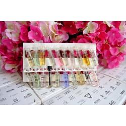 Set 20 chai nước hoa mini