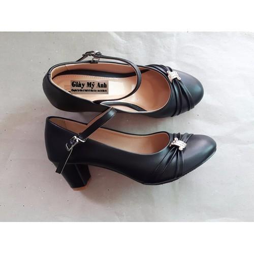 Giày cao gót 343-bóng, mờ