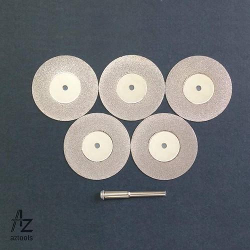Combo 5 đĩa cắt kim cương đường kính 40mm