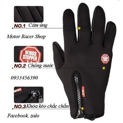 Găng tay chống thấm, cảm ứng