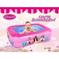 bể bơi  có đáy bơm hơi kích thước 120x95x35 cm