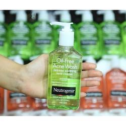 Sữa Rửa Mặt Trị Mụn Neutrogena Oil