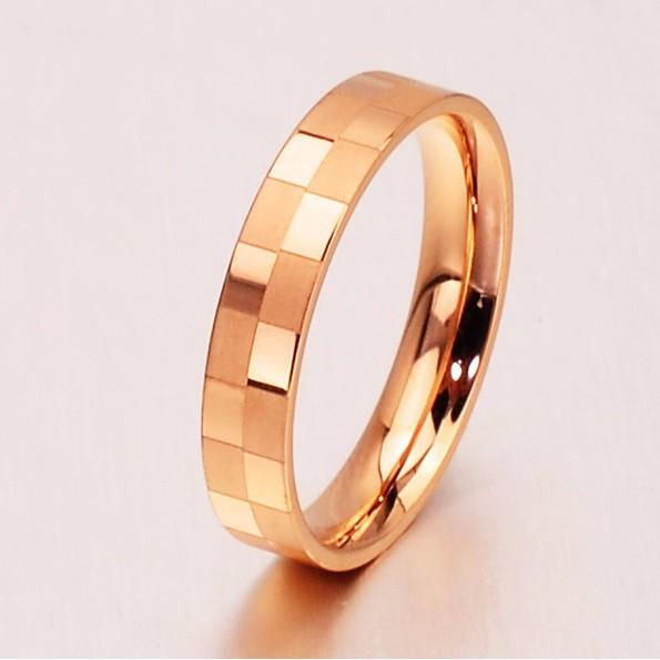 Nhẫn Titanium Không đen TT 0517 1