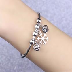 Vòng tay thời trang hoa tuyết cách điệu - LT297
