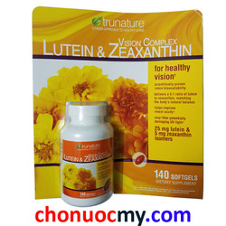 TruNature Lutein Zeaxanthin 140v-Giúp cải thiện thị lực và bảo vệ mắt