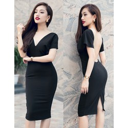 Váy body hở lưng