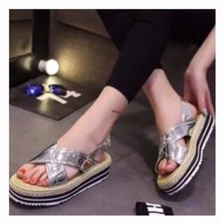 giày đế xuồng quai chéo 2014
