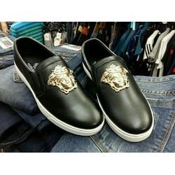 Giày nam chất liệu da thật hình nhân sư