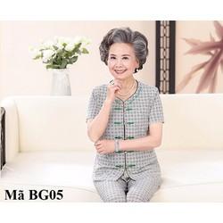 Bộ đồ mặc nhà cho bà già BG05