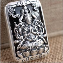 Mặt dây chuyền Phật Nghìn Tay Nghìn Mắt - DC371