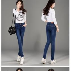 Quần jean nữ thời trang, kiểu dáng năng động trẻ trung-Q11313049