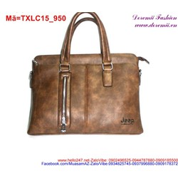 Túi xách laptop thiết kế đơn giản phối khóa sang trọng TXLC15