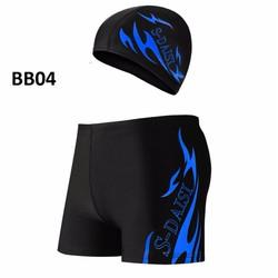 Set quần bơi và mũ bơi nam