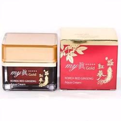 Kem sâm dưỡng ẩm trắng da My Gold Korea Red Ginseng White Cream 50ml