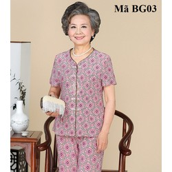 Bộ đồ cho bà già BG03