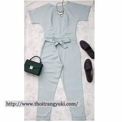 Set bộ áo croptop và quần baggy - HT32