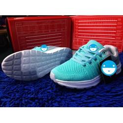 giày thể thao nữ- chất liệu vải thoáng mát