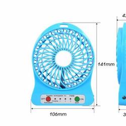 Giới thiệu sản phẩm Quạt Sạc Tích Điện USB