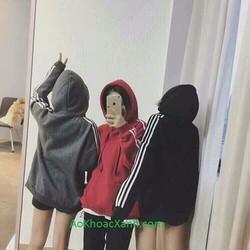 áo khoác hoodie sọc tay