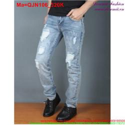 Quần jean nam đơn giản phong cách trẻ trung QJN105