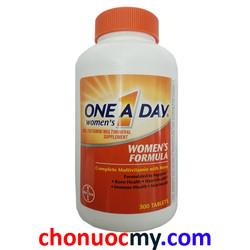 Vitamin tổng hợp One a day Women Formula Vitamins - 300 viên