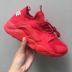 Giày thể thao nam nữ Huarache all Red
