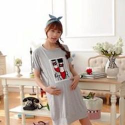 Đầm bầu mặc nhà