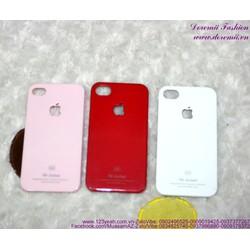 Ốp iphone 4 nhựa Viva trái táo sành điệu IP89