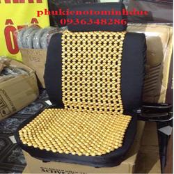 Lót ghế hạt gỗ cho ô tô