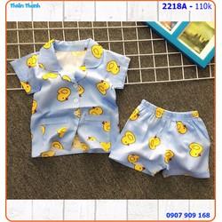 Bộ pijama đùi mặc nhà siêu dễ thương cho bé
