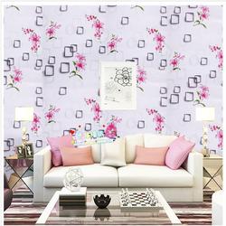 Combo 5m Giấy dán tường hoa ly hồng 1 BINBIN DT87