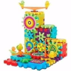 Bộ đồ chơi xếp hình chuyển động