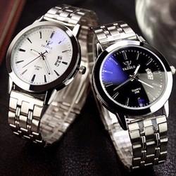 Đồng hồ nam Yazole chính hãng dây kim loại