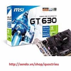 Card màn hình MSI GT630 2G 128 BIT DDR3