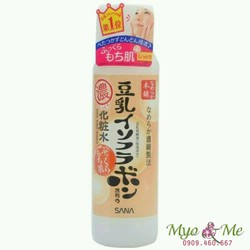Nước hoa hồng Sana Nameraka màu cam dành cho da khô