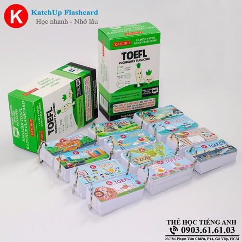 COMBO trọn bộ KatchUp Flashcard TOEFL - Standard C03S