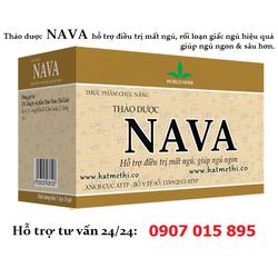 Thảo dược NAVA HT trị mất ngủ, giúp ngủ ngon