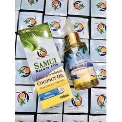 Dầu dừa nguyên chất SAMUI dưỡng tóc dưỡng da